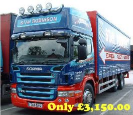 Scania 4 Series High Roof Conversion