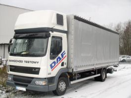 DAF LF Day Cab Sleeper Pod
