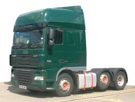 DAF XF105 Super Space Cab High Volume Air Management Kit