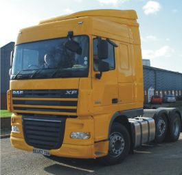 DAF XF105 Space Cab Air Management Kit