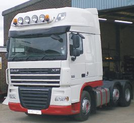 DAF XF105 Super Space Cab Air Management Kit