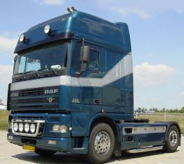 DAF XF Super Space Cab Air Management Kit