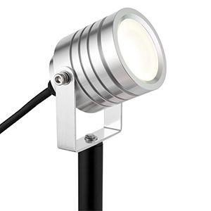 Luminatra - 240v - Aluminium IP65 4w 4000k 300 Lumens 45 Degree Beam Angle -  Spike Light