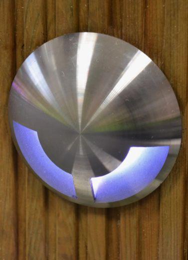 DuoMarka - 240v 316 Stainless Steel GU10 IP67 Recessed Light 2 Windows 180 Degree Of Light