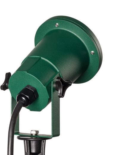 Nautilus - 240v - Green Coloured Mains GU10 Max Wattage 11w, IP65 Spike Light