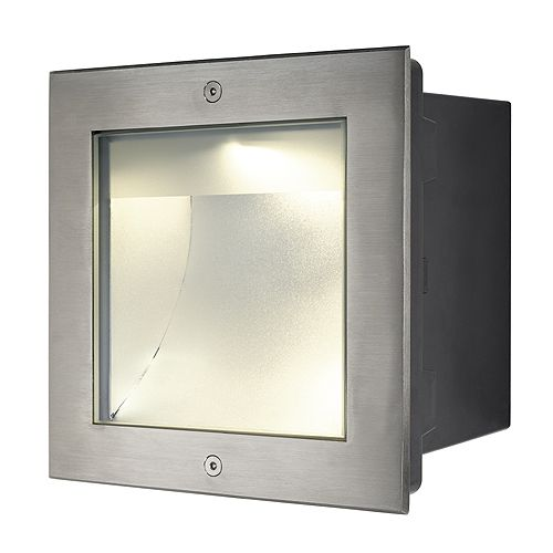 Dasar 255 - 230v 34w 1620 Lumens - 316 Stainless Steel Bezel Aluminium Body IP67 Asymmetrical light 3000k or 4000k