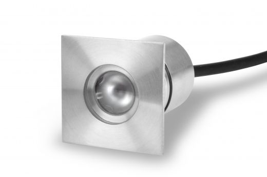 SQUARE RECESSED LIGHT (LV-SS414SQ) 316L STAINLESS STEEL - Made to order - up to 4 weeks