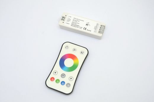 1 zone RF remote controller for RGB and RGBW LED strip + receiver