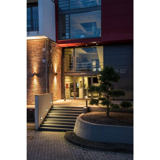 Pole Parc - Anthracite IP44 21w 3000k 100 - 240v 1000 Lumens 90cm Height - Surface Bollard - Choice Of 3 Heights