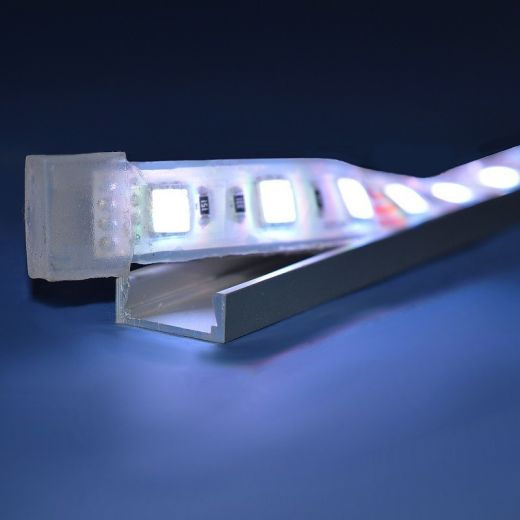 10mm x 6mm - Anodised Aluminium Mounting Channel