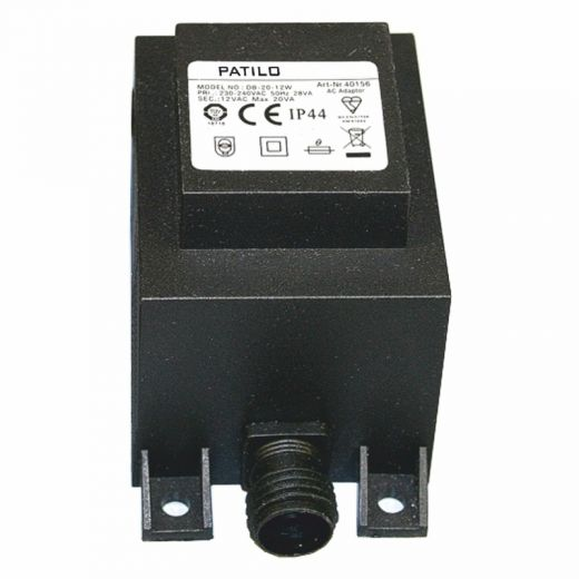 Plug & Play 12v Transformer 20va