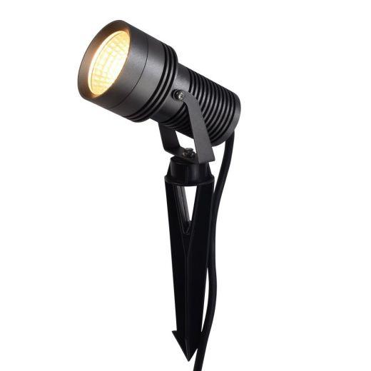 Spike12 Anthracite 24vDC 12w 2700k 1250 Lumens IP67 40 Degree Beam Angle Spotlight Available In Black