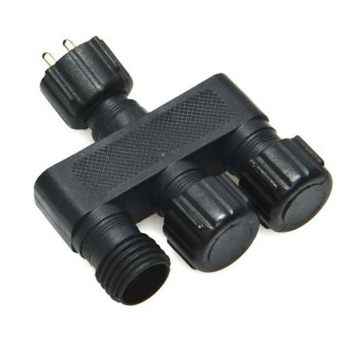 3 and 5 way IP44 connectors for use with Patilo Plug&Play lighting system