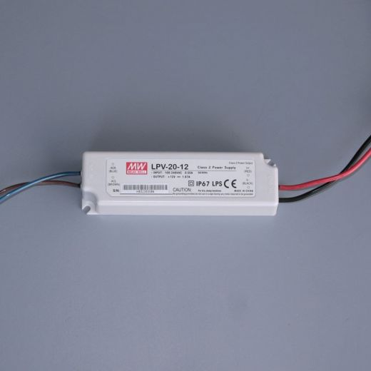 Potted LED LPV20-12 Power Supply - 12v dc - 20w  IP67 -
