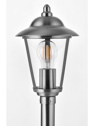 Klien Path - 304 Stainless Steel IP44 E27 240v Max Wattage 60w 800mm Height - Surface Mounted Light - In 2 Heights
