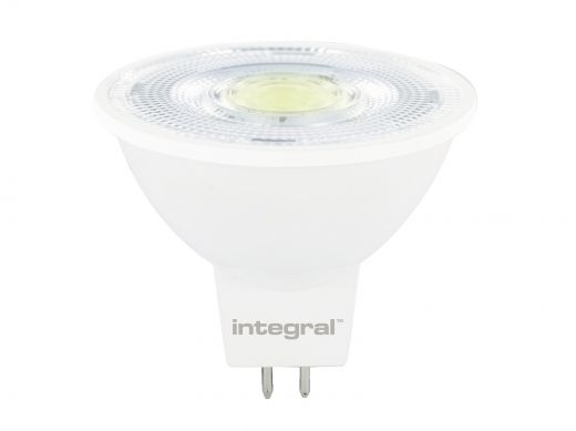 Integral 8.3W Dimmable Cool White LED MR16 Bulb - 36 degree beam angle