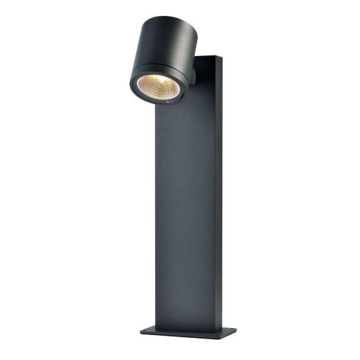 ENOLA_C - Anthracite IP55 9w 3000k 100 - 240v 800 Lumens 510mm Height - Surface Mounted Path Light