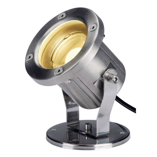 Nautilus SP - 316 Stainless Steel GU10 9w 220-240v IP55 3000k 520 Lumen - Surface or Spike Spot Light