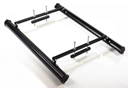 Pictorial Bracket Set - 2ft 610mm or 3ft 914mm for LED and for back to back sign lights. Image shows white finish.