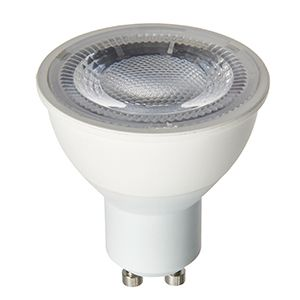 GU10 LED 6000k SMD 7W non dimmable daylight white 550 lumens 60 degree beam angle
