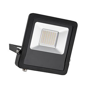 Surge - 240v - Black - 50w IP65 Cool White 4000k 4000 lumens - Floodlight