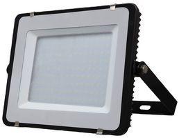 V-TAC - 240v - Slimline Black - 150w IP65 Warm White 3000k 12000 Lumens - Floodlight