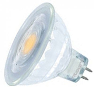 Integral Dimmable Glass LED MR16 5.2 Watt Cool White - 35 Watt Alternative