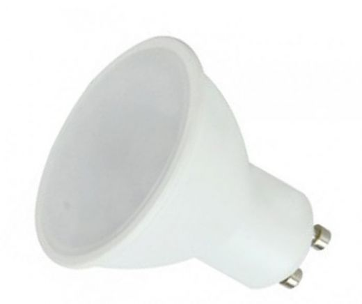6w GU10 LED 120 degree beam angle Cool White 4000k 460 lumens