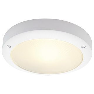 Bulan - 240v - White Powder Coated Aluminium IP44 E14 x Max Wattage 60w Amenity Light - Wall Light