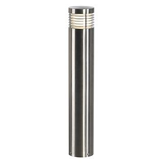 VAP Slim 60 - 304 Stainless Steel IP44 230v E27 20w Max LED 60cm Tall - Surface Or Spiked Bollard- Choice Of 3 Heights