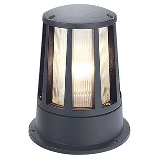 Cone - Anthracite E27 240v Max 100w IP54  - Surface Ground/Pillar/Pedestal Light