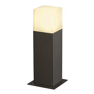 Graffit 30 - Anthracite IP44 E27 Max 11w 230v - 30cm Height - Surface or Spike Mounted Bollard - 2 Heights