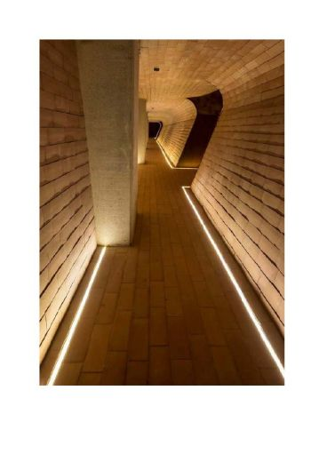 Aluminium Profile - AL-8 for recessing into floors, walls & ceilings for LED strip installations