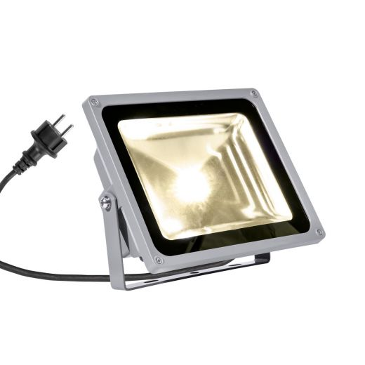 Outdoor Beam 28 - 240v - Grey Aluminium 54w 3000k 5100 Lumens IP65 Security Wall/Flood Light - Choice of 2 Colour Temps
