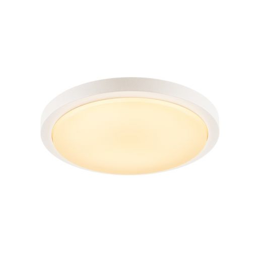 Ainos LED Microwave - 240v White Polycarbonate 22w 3000k 1430 Lumens IP44 Security Light - Choice Of 2 Colours