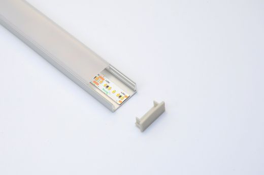 Aluminium Profile - AL-5 surface mounted or AL-5i recessed LED strip installations