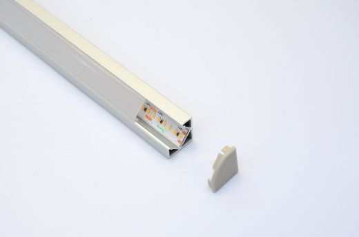 Aluminium Profile - AL-7 surface mounted or AL-7i recessed LED strip installations