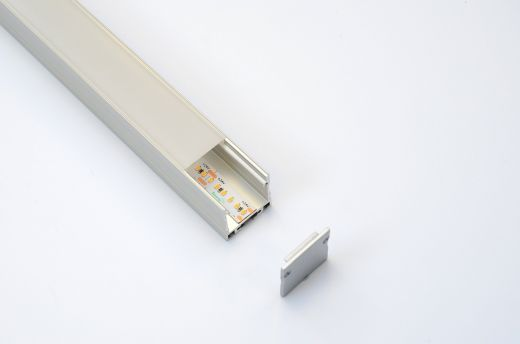 Modular Aluminium Profile - ALS-5 for suspended and surface mounted LED strip installations