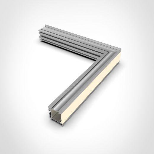 Modular Aluminium Profile - ALS-5i for recessed LED strip installations