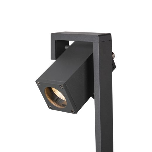 Theo Bracket 50/70 - Adjustable Path Light - 240v IP65 -Anthracite Aluminium GU10 Max 7w - Available In 2 Heights