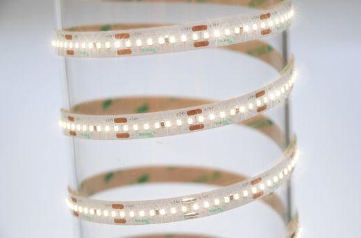 19.2w/m Single Colour LED Strip 240 LEDs per metre IP65 24v 120 degree beam angle in 5m lengths 2.0mm depth