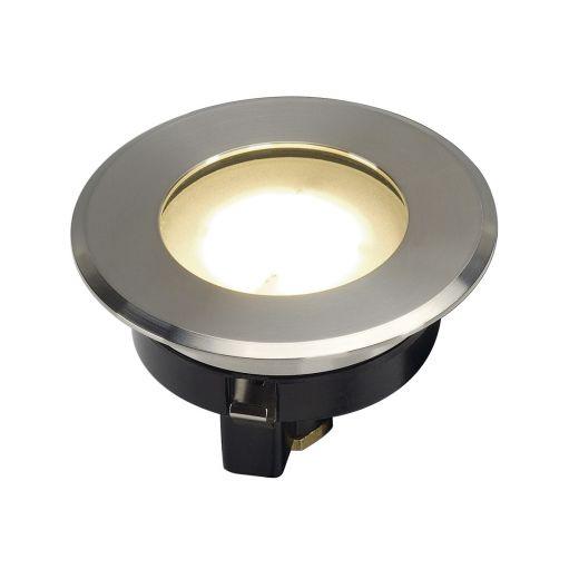 Dasar Flat 80 - 240v 4.3w 304 Stainless Steel Bezel & Aluminium Body IP67 Recessed Light - 3000k 140 Lumens