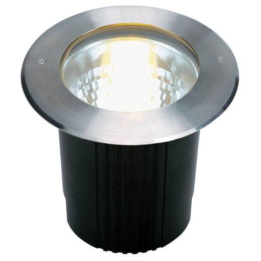 Dasar 215 - 240v E27 - 316 Stainless Steel Bezel/Aluminium Body IP67 11w Max Round Deep Recessed Light