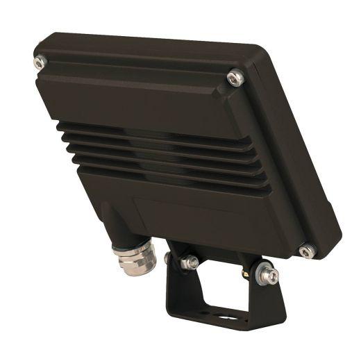 Spoodi 13 PIR Light 240v - Black Aluminium 11w 3000k 800 Lumens IP65 Security Wall/Flood Light - In 2 Colours