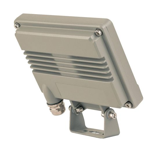 Spoodi 13 PIR Light 240v - Grey Aluminium 11w 3000k 800 Lumens IP65 Security Wall/Flood Light - In 2 Colours