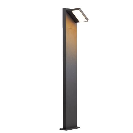 Abridor - Anthracite IP55 14w 750 Lumens 100 - 277v Switchable 3000k/4000k 1m Height - Path Light 2 Heights