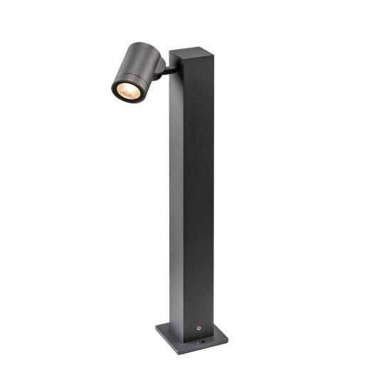 Helia - Anthracite IP55 8w COB LED 3000k 450 Lumens 220 - 240v 50cm Height - Path Light