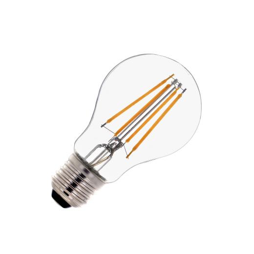7w LED filament E27 warm white 2700k bulb