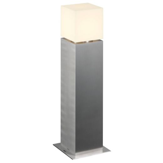 Square Pole 60 - 316 Stainless Steel IP44 220- 240v 12w LED 3000k 760 Lumens 60cm Surface Or Spike Bollard In 3 Heights