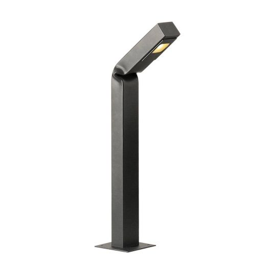 Bendo - Anthracite IP55 11w 3000k Dimmable 220 - 240v 700 Lumens 80cm - Curved Bollard - Choice of 3 Heights